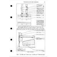 Caterpillar D4D Tractor Power Shift Parts Manual CAT UE070080 Book 22C S/N