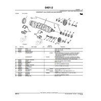 John Deere 70D Excavator Parts Manual JD PC2138 Book