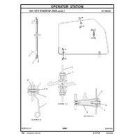Caterpillar 428D Backhoe Loader Parts Manual CAT SEBP3969 Book
