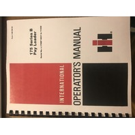 International 175B Pay Loader Operators Manual Dresser 1085293R1 Operation Book