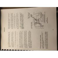International TD6 Crawler Tractor Operation Manual 1011201R1 Dress Operators Book