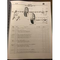 International T6 TD6 Crawler Tractors Parts Manual TC23E Book