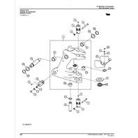 John Deere 310SK Backhoe Loader Parts Manual JD PC11112 Book Catalog