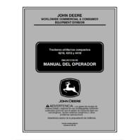 John Deere 4210 4310 4410 Tractor Manual del Operador JD OMLVU13193 SPANISH