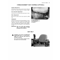 John Deere 4040 4240 Tractor Operators Manual JD OMR65460 Operation Book