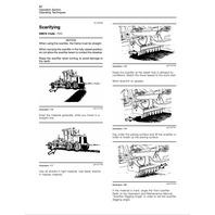 Caterpillar 12H Motor Grader Operators Manual HI SN CAT SEBU7051 Operation book