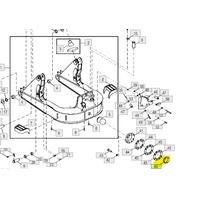 T227961 SPLIT BUSHING FOR JOHN DEERE 450H 550H 650H 450J 550J 650J 450K 550K 650K