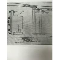 9P7239 CAT CATERPILLAR TRANSMISSION PUMP DOZER D3 D3B D3C D4C POWERSHIFT ONLY
