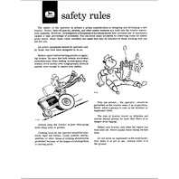 John Deere 1010 Row Crop Utility Tractor JD Operators Manual OMT16142 Operation Book