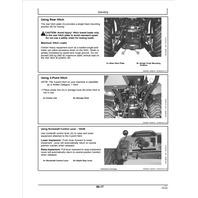 John Deere 1023E 1025R Compact Utility Tractors Operators Manual JD OMLVU28480 Operation Book