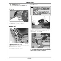 John Deere 790 Compact Utility Tractor OMLVU15440 JD Operator Manual Operation Book ENGLISH
