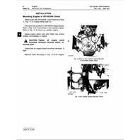John Deere 300 Series OEM Engines Technical Manual JD TM1190 Tech Book