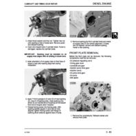 John Deere 8875 Skid Steer Loader Technical Manual JD TM1566 Tech Book