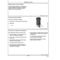 John Deere 310G 310SG 315SG Backhoe Loader Operators Manual JD OMT191038 Operation Book
