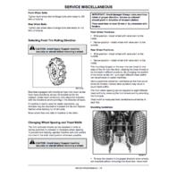 John Deere 4310 4410 Compact Utility Tractors
