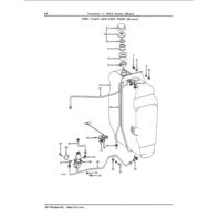 John Deere Tractors 3010 Series Wheel Parts Catalog JD PC736 Book Manual
