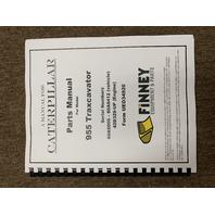 CAT Caterpillar 955H Parts Manual Book NEW 60a 5000-8412 Crawler Loader UE034920