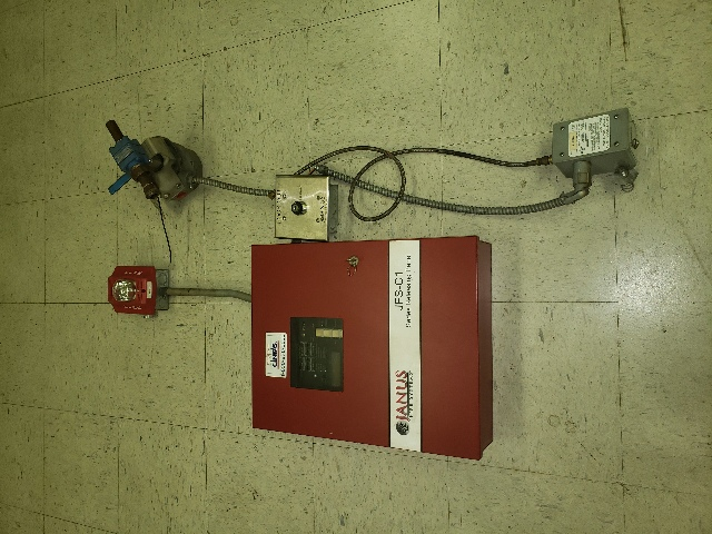 Used Janus Fire System Releasing Panel JFS-C1