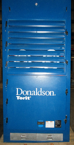 Used Donaldson Torit DWS-6 Downflo Workstation Dust Collector Booth 7.5 HP