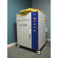 Used IPG Photonics Ytterbium Class 4 Laser System YLS-4000-S2T 8000 W 900-1200nm