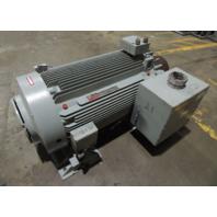 USED GE 300 HP 4000 4KV 1800 RPM MOTOR 5KS511XN2000RZ FRAME 5011L