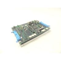 Used ABB 61336125F 1/4 PCB With Mounting Plate