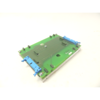 Used ABB 61298622E 1/2 Distribution Card and Mounting Plate