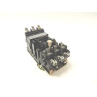 Used Allen Bradley 509-DOD Starter Size 3 120VAC 90A