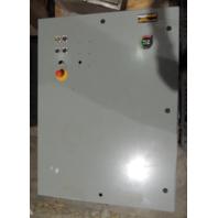 New Surplus Enviroline Enclosure SCE-48EL3616LP Nema 12/4 w/ Ebmpapst Fan