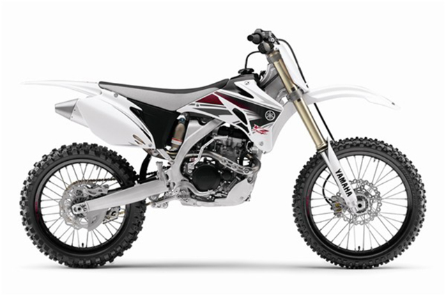 Acerbis White Side Number Plates Panels for Yamaha YZ 250 F 450 F 03-05