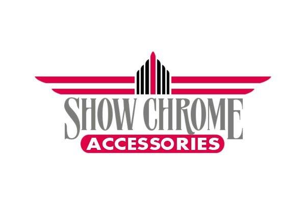 Show Chrome 52-749BK Tapered Fender Extension