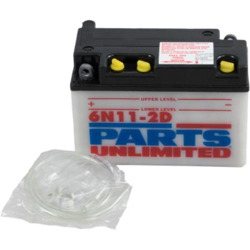 80-81 C70 Passport Parts Unlimited 6-Volt Conventional Battery Kit 6CB11-2D-FP