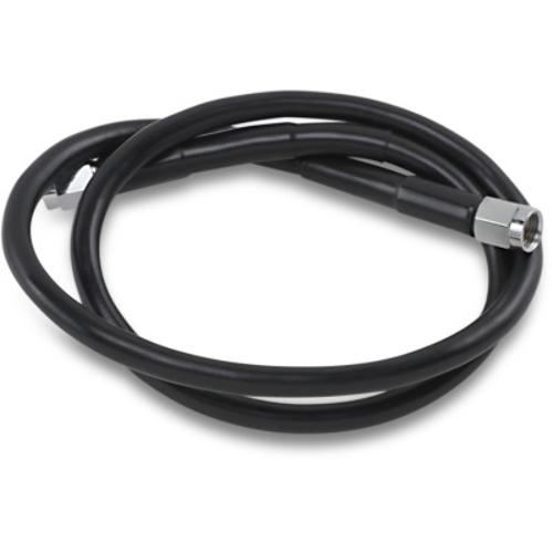 DRAG 1741-2717 Universal Black Vinyl-Coated Stainless Steel Brake Line