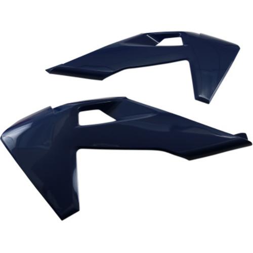 Ufo Plastics Husq Fc//Tc 125-450 Radiator Cover Wht Hu03390-041 New