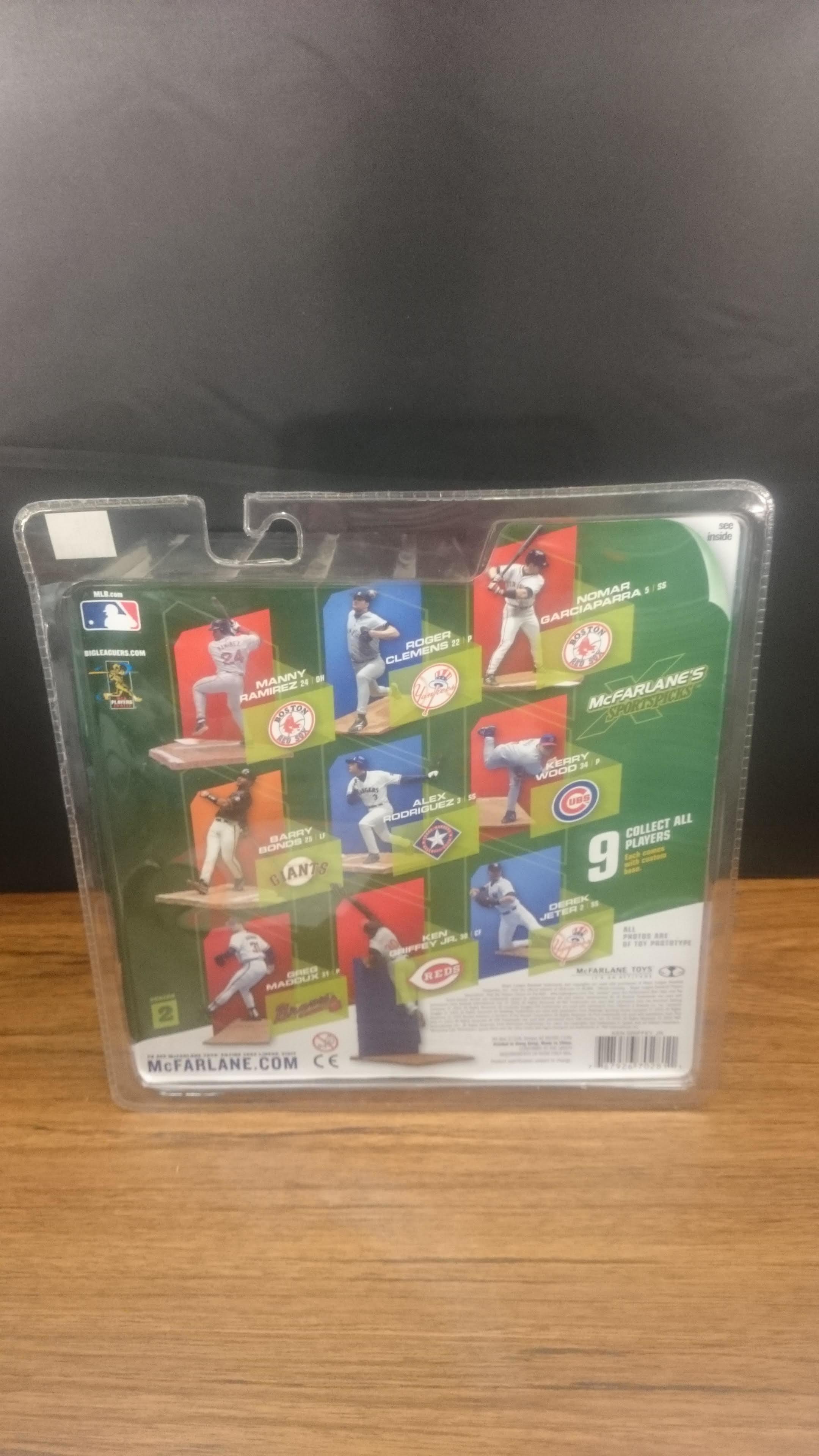 4b72a153fd ... 2002 Ken Griffey Jr Mariners Jersey Variant McFarlane Sportspick  Cincinnati Reds ...