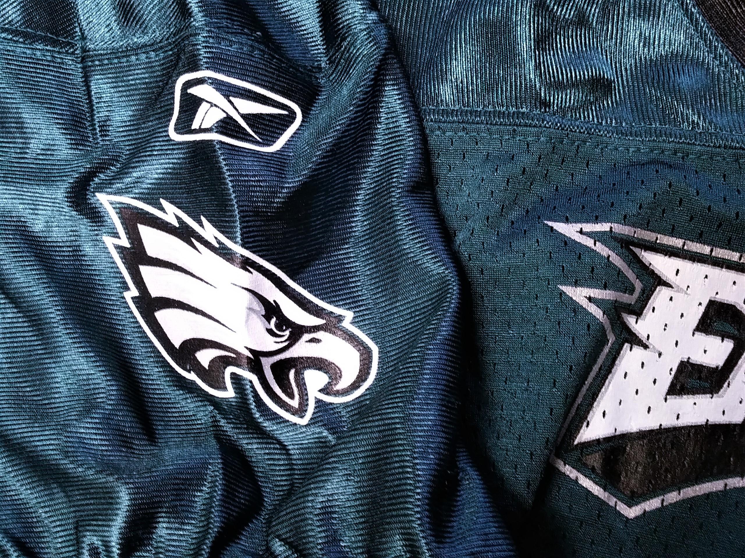 ... Reebok Philadelphia Eagles Mesh Jersey Shirt Youth Size 4XL Football NFL 912714008