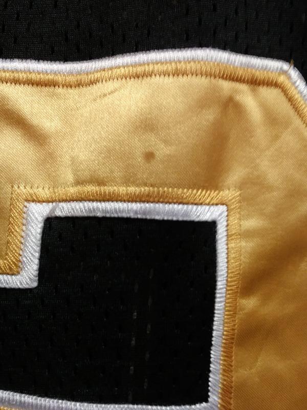 af5eea16d ... Reebok Onfield Ingram  28 Black Gold New Orleans Saints Jersey Shirt Sz  52 NFL