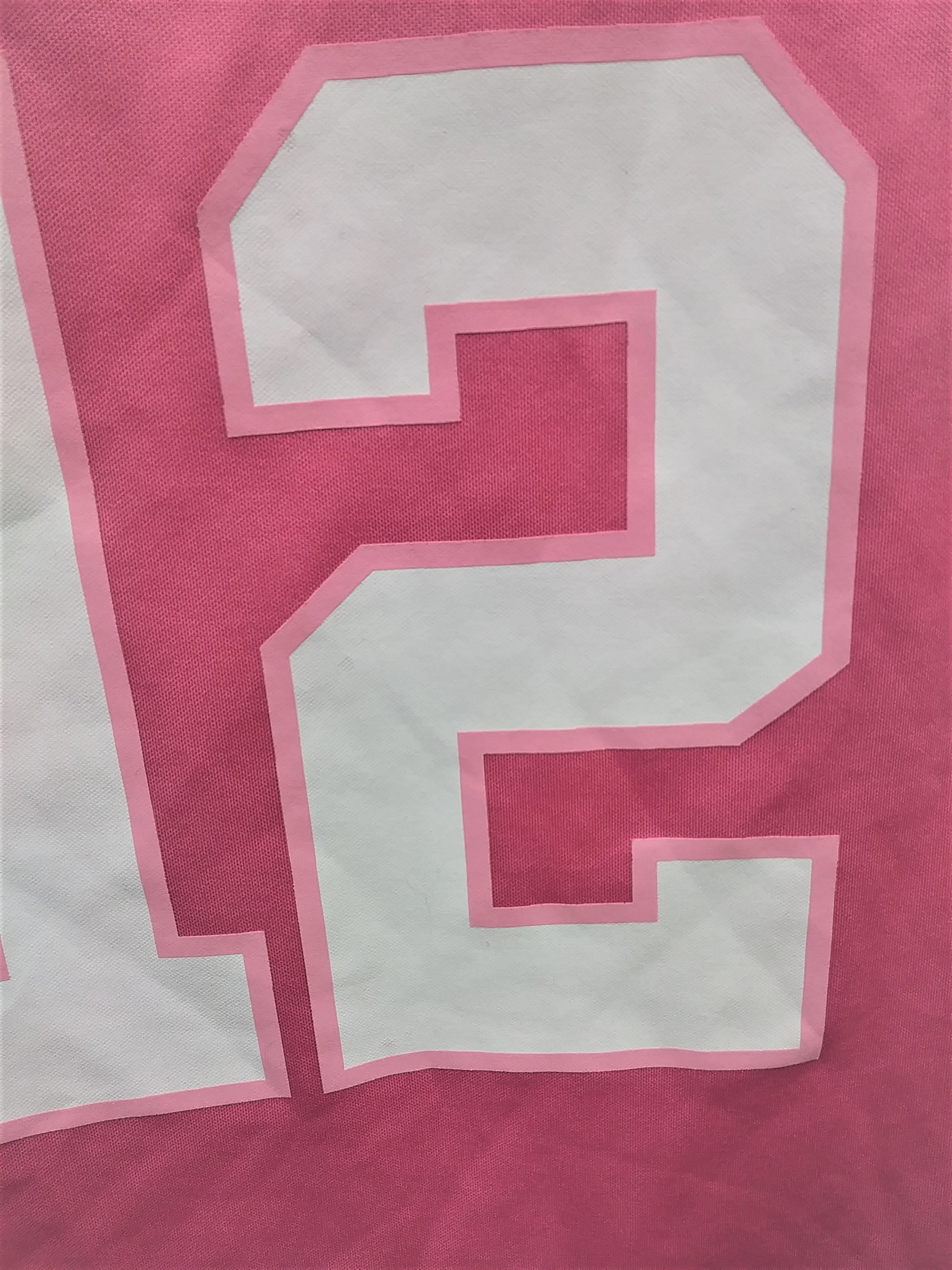 best service 6b49e c9d56 Green Bay Packers Aaron Rodgers #12 Pink Jersey Style T-Shirt Size M 10-12