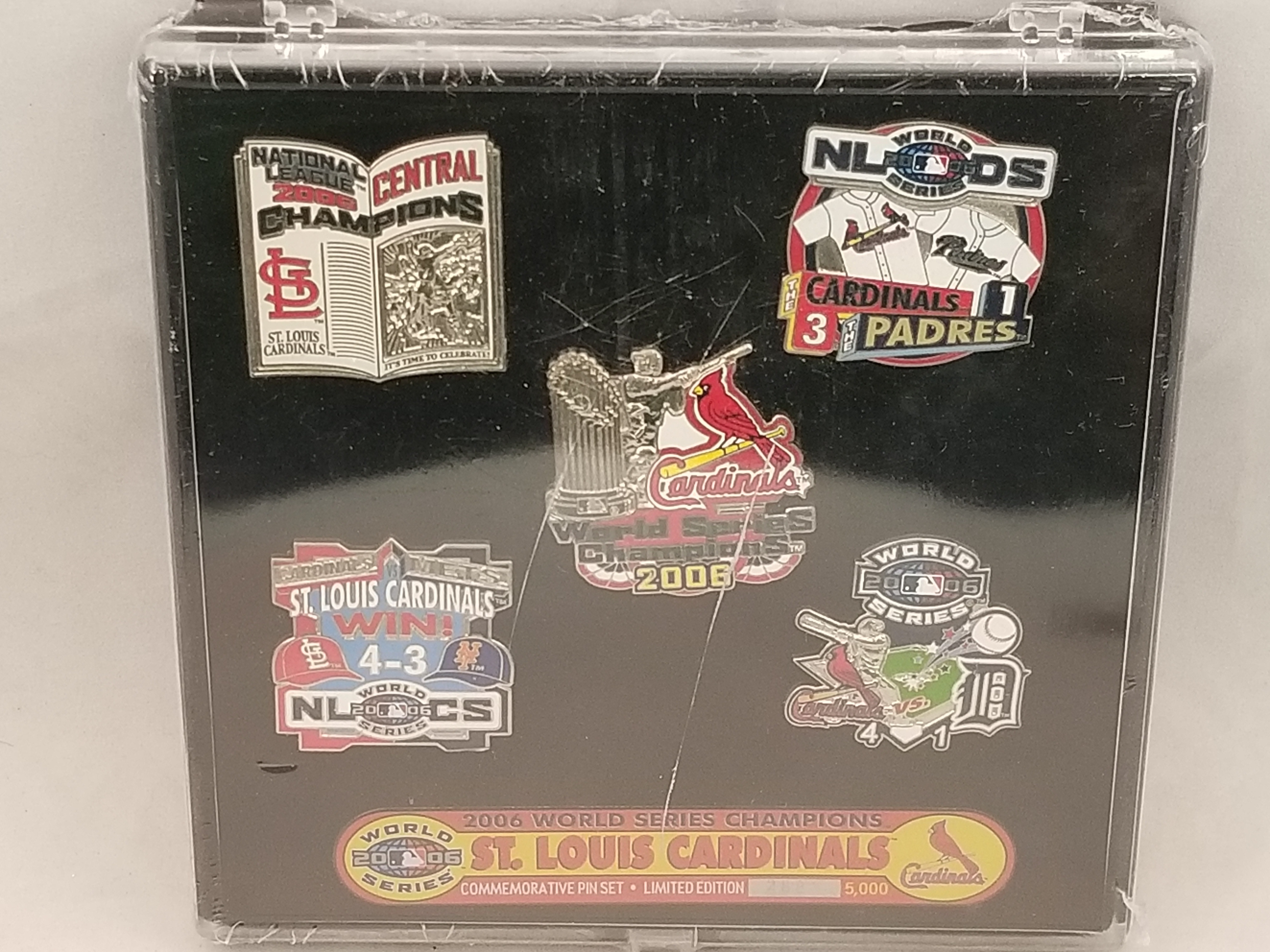 2006 St Louis Cardinals World Series Champions Limited Edition Pin Set 288 5000