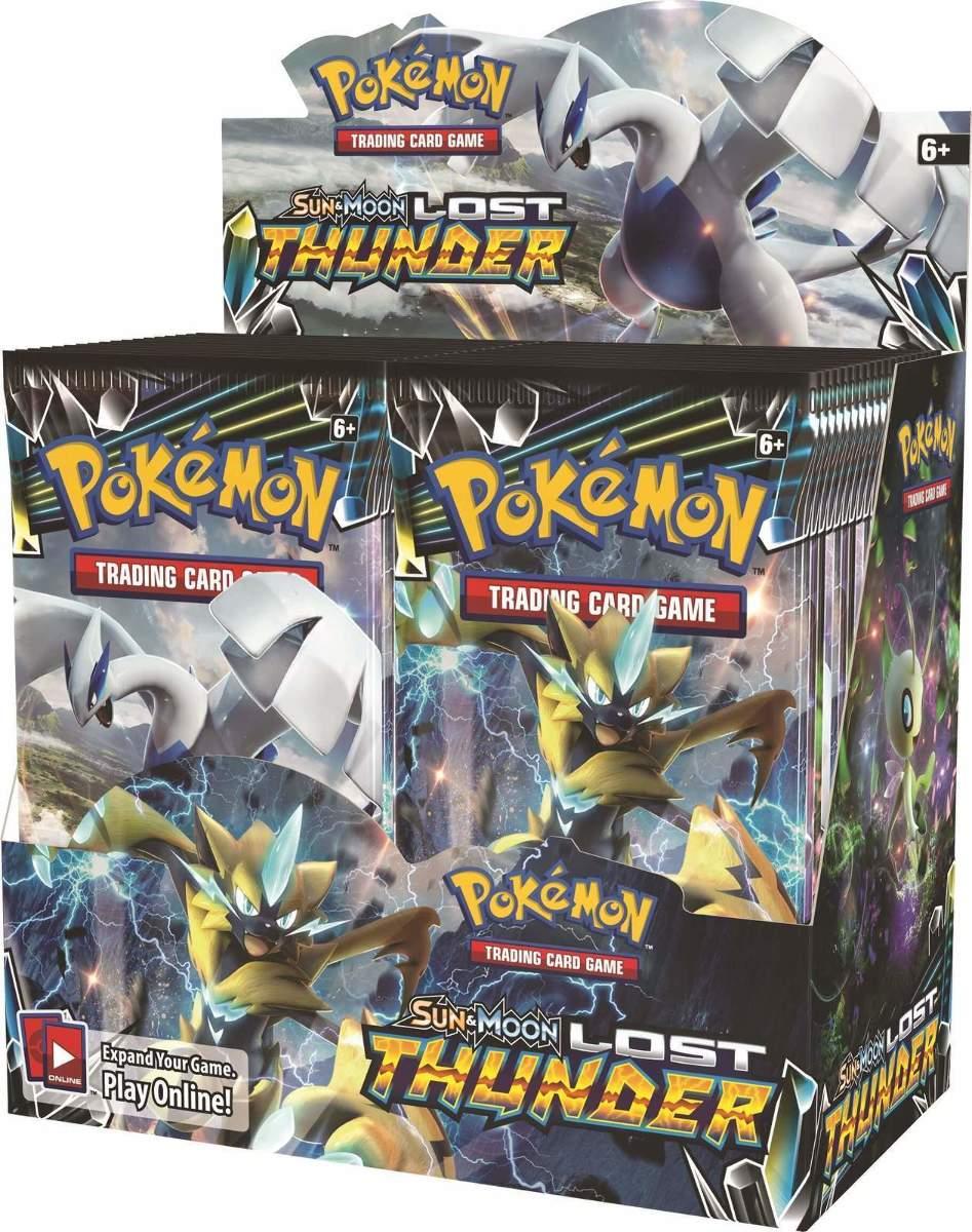 Pokemon Sun/Moon Full 6-Box Case Break