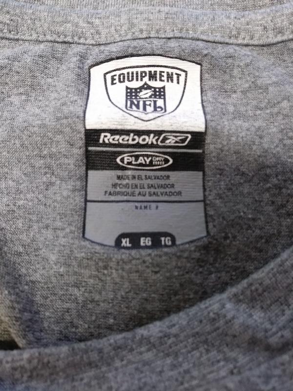 detailed look ed456 83d5b Reebok Play Dry Washington Redskins Gray Long Sleeve Shirt Size XL NFL  Football