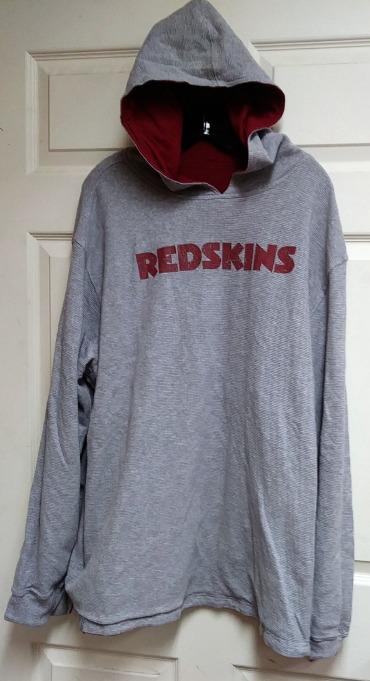 Reebok Washington Redskins Reversible Pullover Sweatshirt Hoodie Unsized NFL   5e7c42ce6