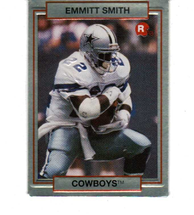1990 Action Packed Rookie Update 84 Card Set In Box Nfl Emmitt Smith Seau Rison