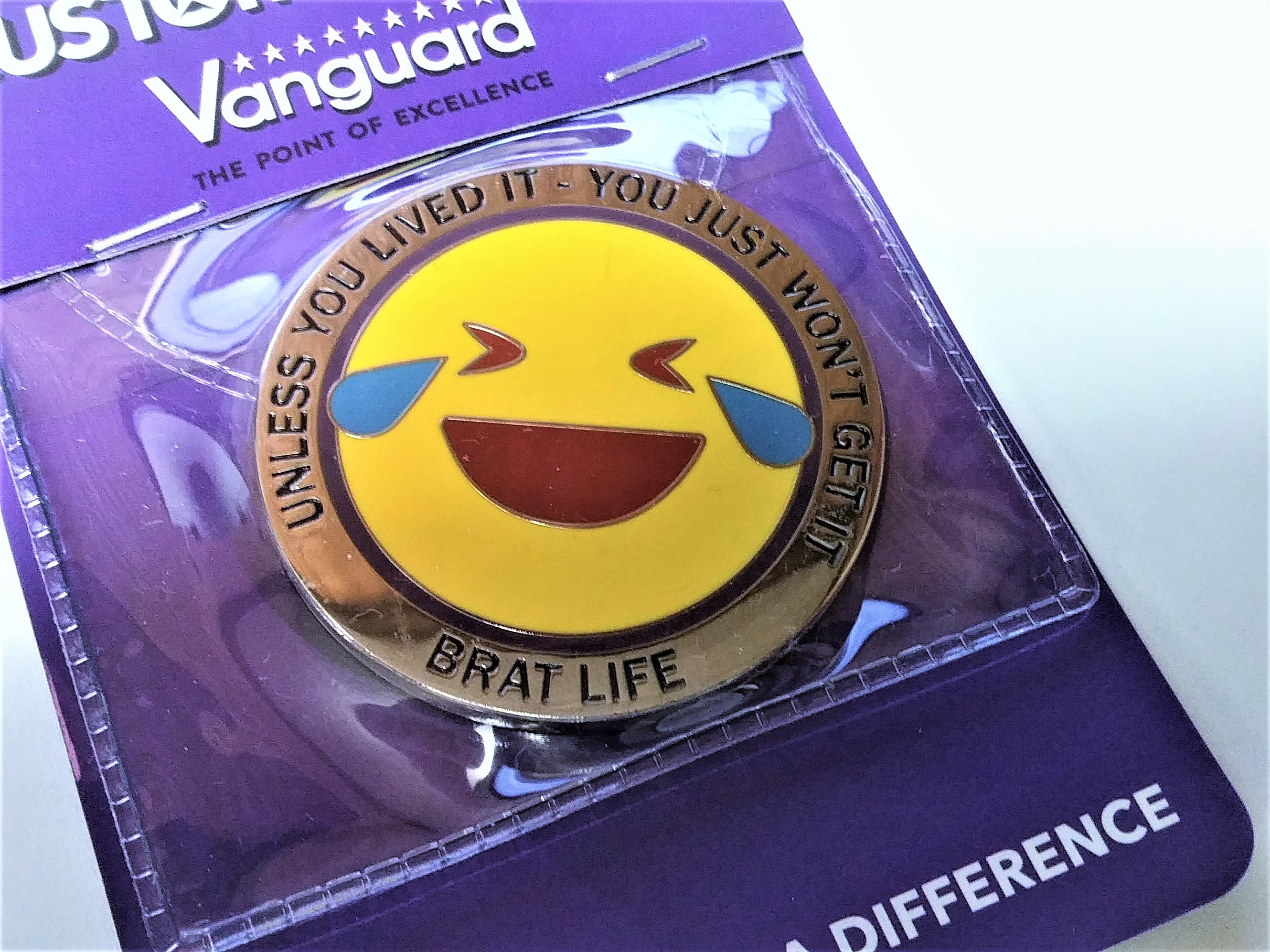 Vanguard Military Brat Coin Unless You Lived It You Just Won't Get It-Brat Life
