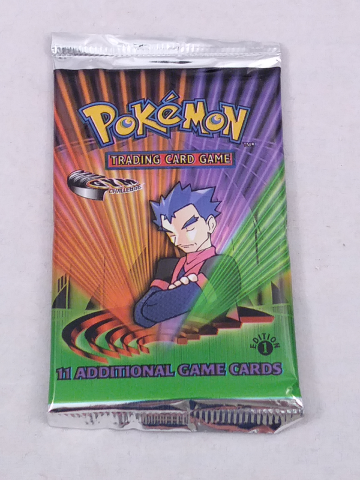 1 Pokemon TCG 1st Edition Gym Challenge Trading Card Game Sealed Booster Pack