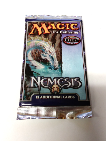 2000 Magic the Gathering MTG Nemesis Expert Booster Pack Factory Sealed
