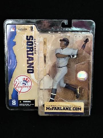 2004 Alfonso Soriano McFarlane SportsPicks Figure Series 8 New York Yankees NIP