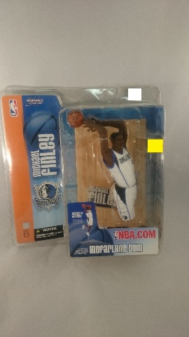 2004 Michael Finley McFarlane Figure NBA Series 6 Dallas Mavericks