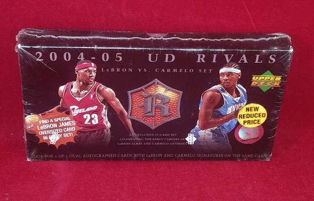 2004-05 Upper Deck Rivals Box Set 31 Cards Sealed LeBron James Carmelo Anthony