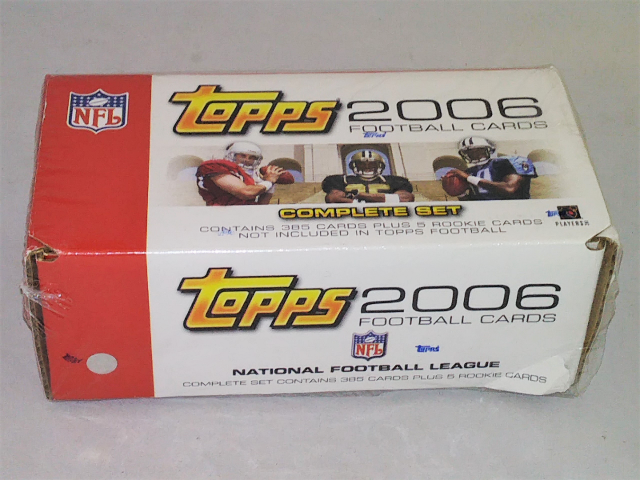 2006 Topps Football Factory Set Sealed Complete 385 Cards W/ 5 Rookie Cards